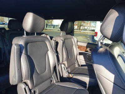 6-Sitzer VIP-Bus Innenansicht